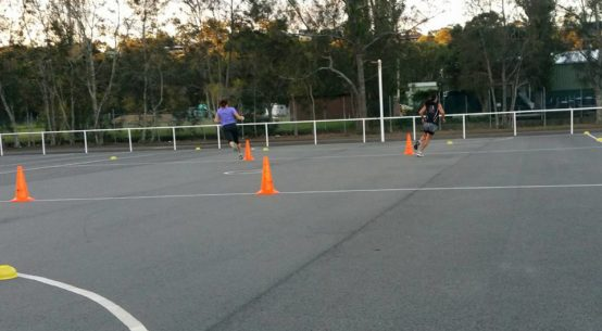 Newcastle NSW / Hunter Valley and Lake Macquarie netball agiity and speed training