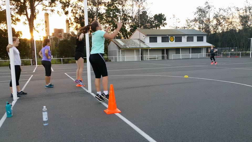 Speed and Agility training for netball