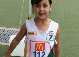 Sprint training for little athletics